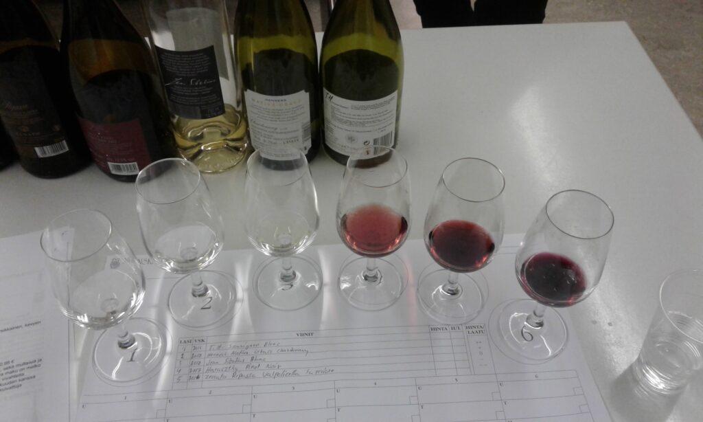 Joensuun viiniseuran hallituksen viinivalinnat syyskuun 2020 tastingissä